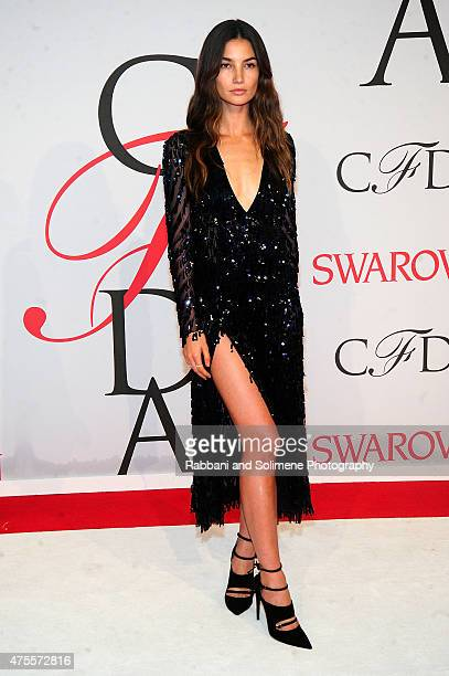 Lily Aldridge attends the 2015 CFDA Fashion Awards at Alice Tully Hall at Lincoln Center on June 1 2015 in New York City