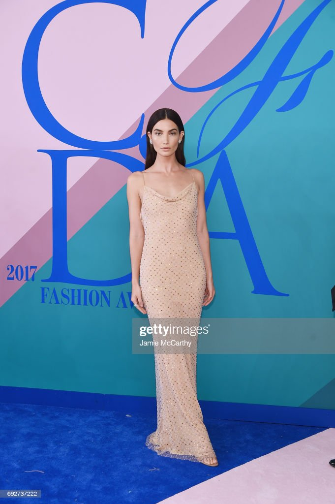 Lily Aldridge attends the 2017 CFDA Fashion Awards at Hammerstein Ballroom on June 5, 2017 in New York City.