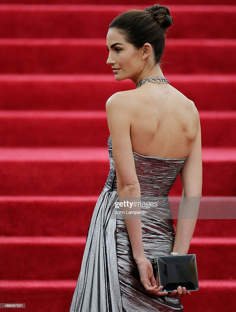 <a gi-track='captionPersonalityLinkClicked' href=/galleries/search?phrase=Lily+Aldridge&family=editorial&specificpeople=2110490 ng-click='$event.stopPropagation()'>Lily Aldridge</a> attends the 'Charles James: Beyond Fashion' Costume Institute Gala at the Metropolitan Museum of Art on May 5, 2014 in New York City.