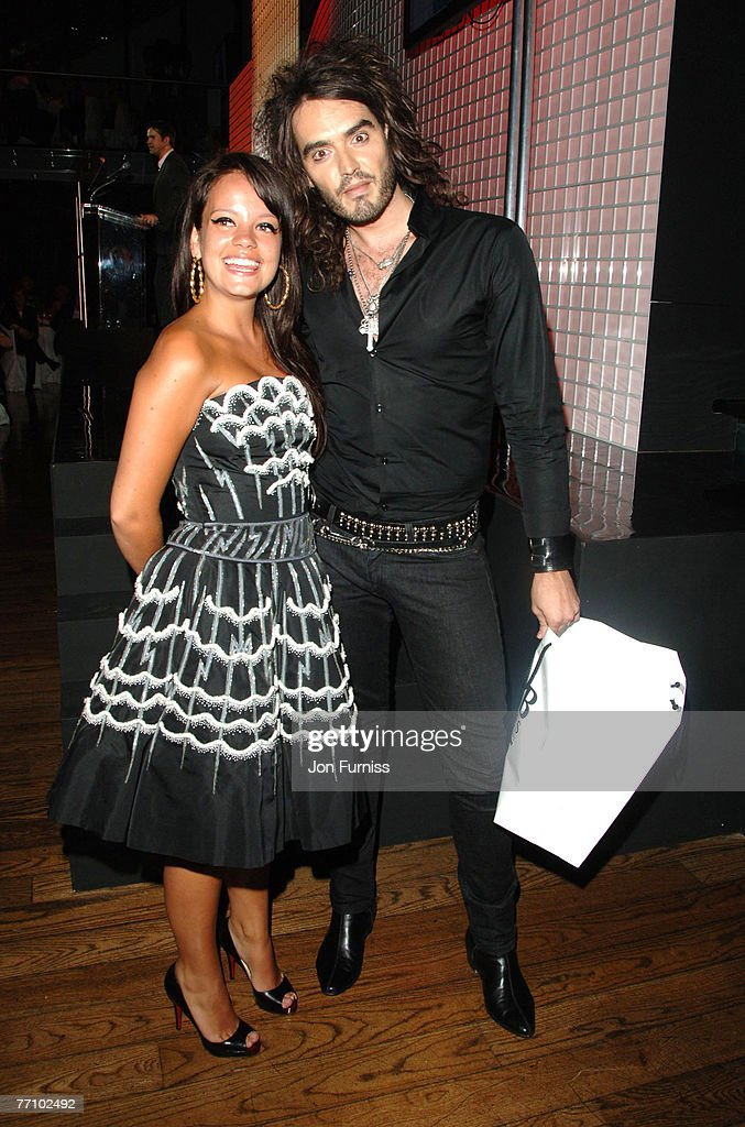 Lily Allen and Russell Brand