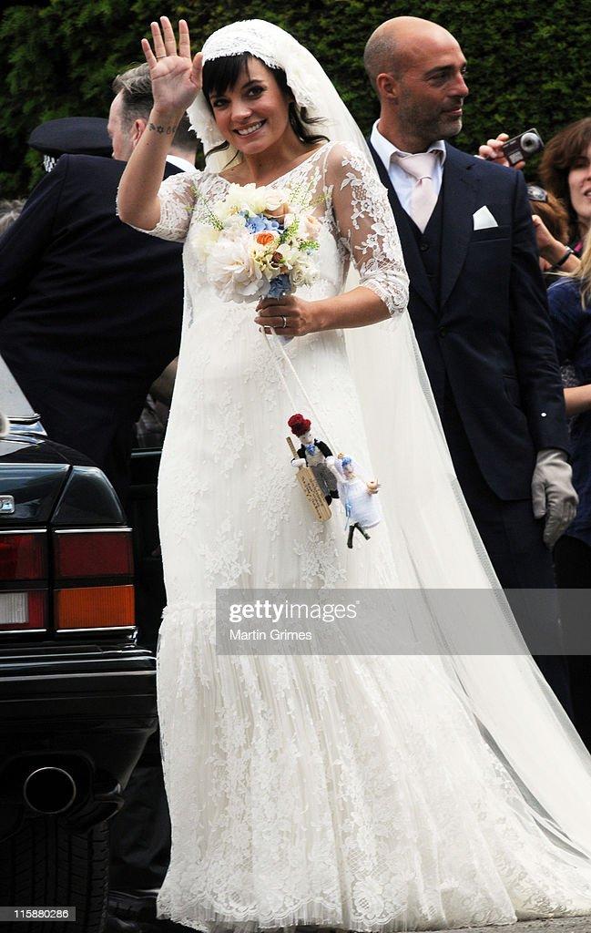 Lily Allen and Sam Cooper - Wedding