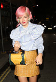 Lily Allen at Lou Lou's club on September 21 2015 in London England
