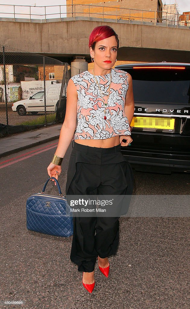 <a gi-track='captionPersonalityLinkClicked' href=/galleries/search?phrase=Lily+Allen&family=editorial&specificpeople=724899 ng-click='$event.stopPropagation()'>Lily Allen</a> at the Nike Lab Launch on June 11, 2014 in London, England.