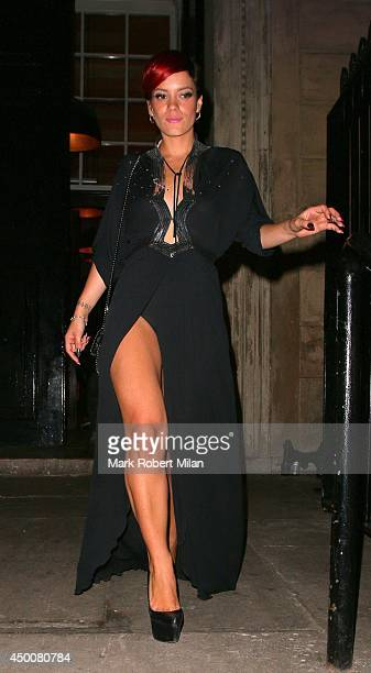 Lily Allen attending The Other Ball on June 4 2014 in London England