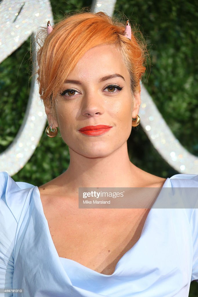 Lily Allen attends the British Fashion Awards at London Coliseum on ... Lily Allen