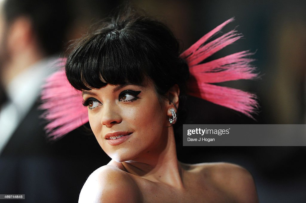 <a gi-track='captionPersonalityLinkClicked' href=/galleries/search?phrase=Lily+Allen&family=editorial&specificpeople=724899 ng-click='$event.stopPropagation()'>Lily Allen</a> attends the EE British Academy Film Awards 2014 at The Royal Opera House on February 16, 2014 in London, England.