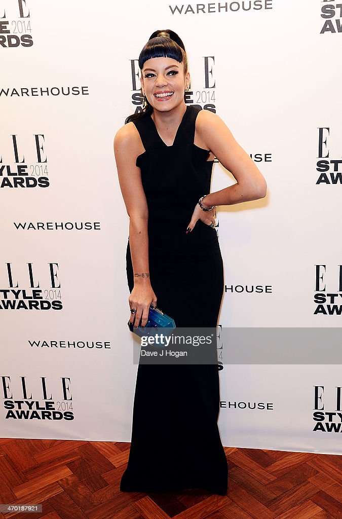 <a gi-track='captionPersonalityLinkClicked' href=/galleries/search?phrase=Lily+Allen&family=editorial&specificpeople=724899 ng-click='$event.stopPropagation()'>Lily Allen</a> attends the Elle Style Awards 2014 at one Embankment on February 18, 2014 in London, England.