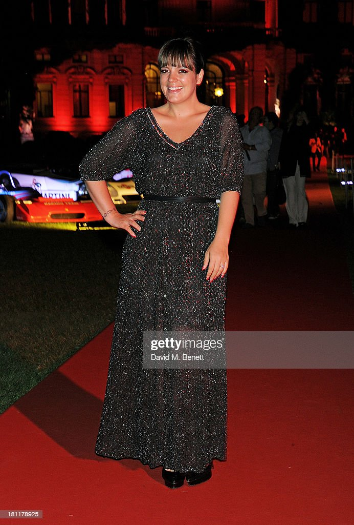 Lily Allen attends the MARTINI 150 anniversary gala at Villa Erba, Lake Como on September 19, 2013 in Como, Italy.
