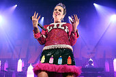 Lily Allen performs at Terminal 5 on September 23 2014 in New York City