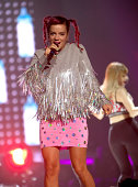 Lily Allen performs at the Time Warner Cable Arena on August 6 2014 in Charlotte North Carolina