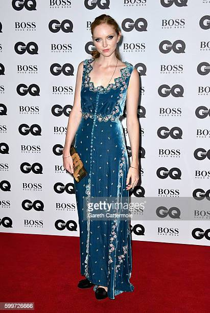 Lily Cole arrives for GQ Men Of The Year Awards 2016 at Tate Modern on September 6 2016 in London England