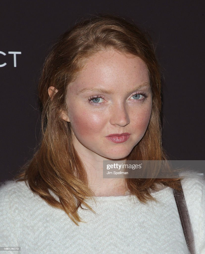 Lily Cole attends 'Disconnect' New York Special Screening at SVA Theater on April 8, 2013 in New York City.