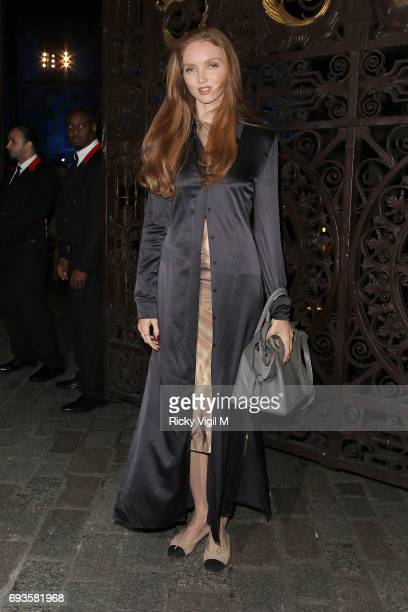 Lily Cole attends Royal Academy of Arts Summer Exhibition 2017 VIP preview/party on June 7 2017 in London England