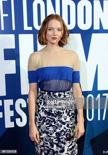 Lily Cole attends the 61st BFI London Film Festival Awards on October 14 2017 in London England