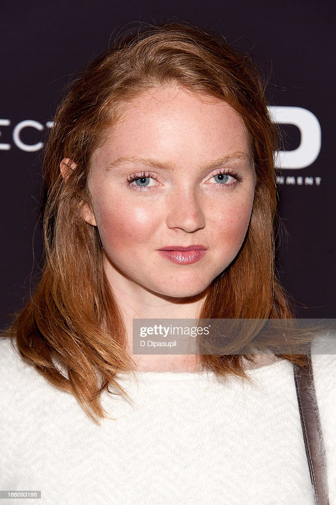 Lily Cole attends the 'Disconnect' New York Special Screening at SVA Theater on April 8, 2013 in New York City.