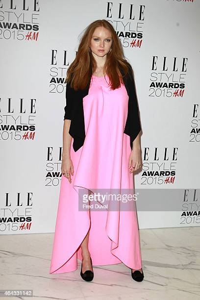 Lily Cole attends the ELLE Style Awards at Sky Garden 20 Fenchurch Street EC3M 3BY on February 24 2015 in London England