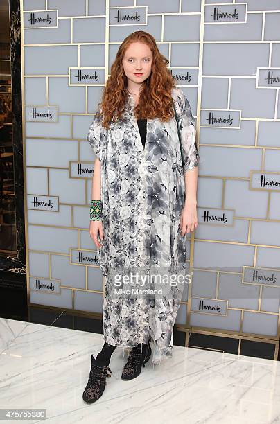 Lily Cole attends the launch of Superbrands at Harrods on June 3 2015 in London England