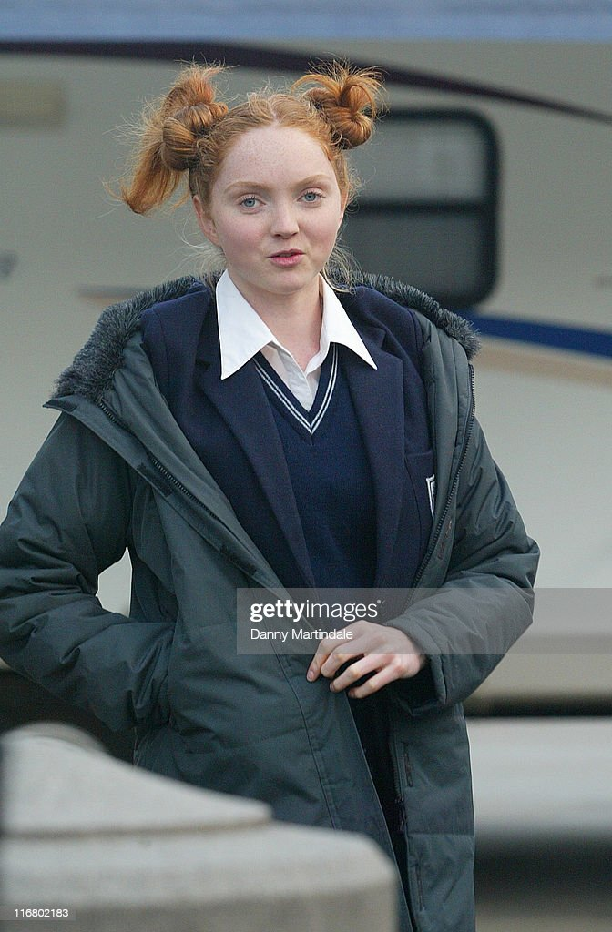 <a gi-track='captionPersonalityLinkClicked' href=/galleries/search?phrase=Lily+Cole&family=editorial&specificpeople=206320 ng-click='$event.stopPropagation()'>Lily Cole</a> during Filming of 'St. Trinian's' in Trafalgar Square - April 11, 2007 at Trafalgar Square in London, Great Britain.
