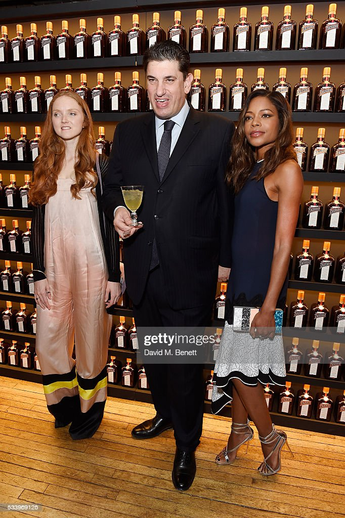 <a gi-track='captionPersonalityLinkClicked' href=/galleries/search?phrase=Lily+Cole&family=editorial&specificpeople=206320 ng-click='$event.stopPropagation()'>Lily Cole</a>, Panos Sarantopoulos, Chief Executive of Remy Cointreau and <a gi-track='captionPersonalityLinkClicked' href=/galleries/search?phrase=Naomie+Harris&family=editorial&specificpeople=238918 ng-click='$event.stopPropagation()'>Naomie Harris</a> attend the Cointreau Creative Crew Award Ceremony at Liberty London on May 24, 2016 in London, England.