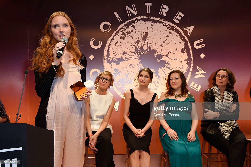 <a gi-track='captionPersonalityLinkClicked' href=/galleries/search?phrase=Lily+Cole&family=editorial&specificpeople=206320 ng-click='$event.stopPropagation()'>Lily Cole</a> wins an Icon Award at the Cointreau Creative Crew Award Ceremony at Liberty London on May 24, 2016 in London, England.