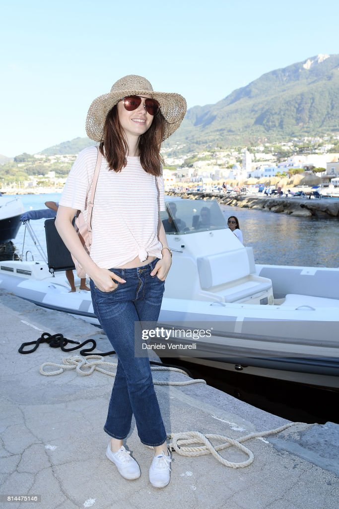 Lily Collins attends 2017 Ischia Global Film & Music Fest on July 14, 2017 in Ischia, Italy.