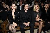 Saint Laurent : Front Row - Paris Fashion Week...