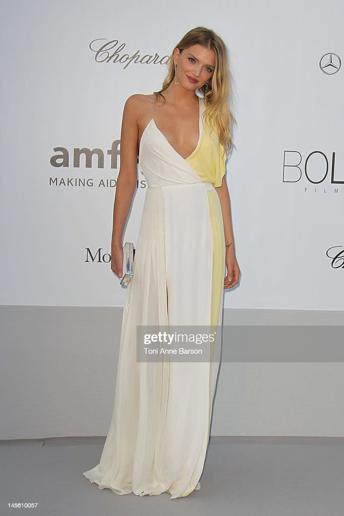 <a gi-track='captionPersonalityLinkClicked' href=/galleries/search?phrase=Lily+Donaldson&family=editorial&specificpeople=469694 ng-click='$event.stopPropagation()'>Lily Donaldson</a> arrives at amfAR's Cinema Against AIDS at Hotel Du Cap on May 24, 2012 in Antibes, France.