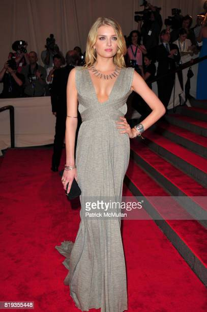 Lily Donaldson attend THE METROPOLITAN MUSEUM OF ART'S Spring 2010 COSTUME INSTITUTE Benefit Gala at The Metropolitan Museum of Art on May 3rd 2010...