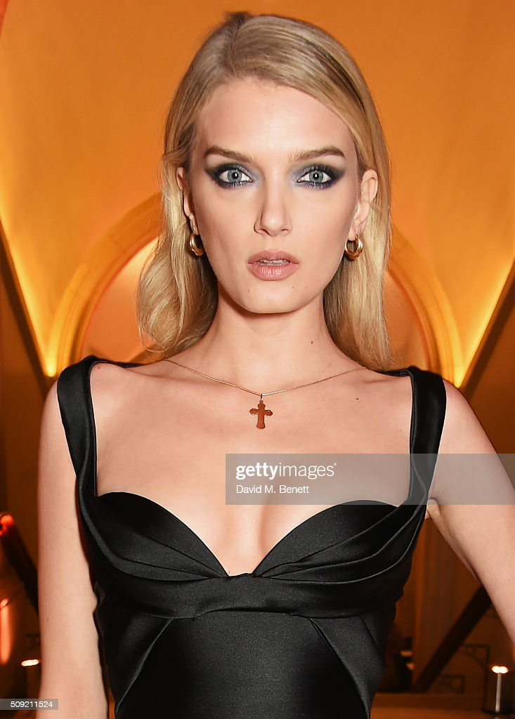 <a gi-track='captionPersonalityLinkClicked' href=/galleries/search?phrase=Lily+Donaldson&family=editorial&specificpeople=469694 ng-click='$event.stopPropagation()'>Lily Donaldson</a> attends a private view of 'Vogue 100: A Century of Style' hosted by Alexandra Shulman and Leon Max at the National Portrait Gallery on February 9, 2016 in London, England.