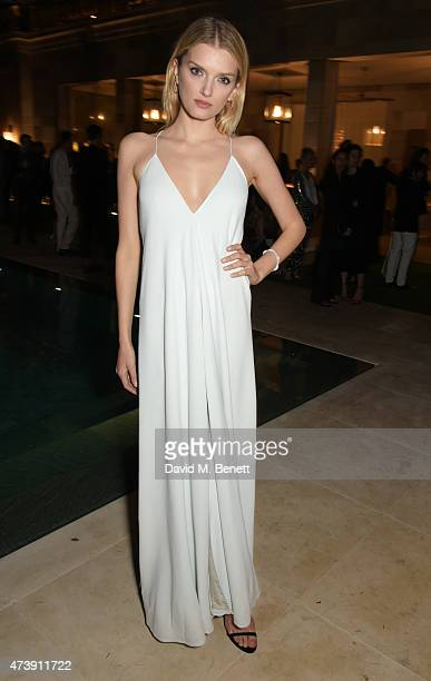 Lily Donaldson attends as The IFP Calvin Klein Collection euphoria Calvin Klein Celebrate Women In Film at the 68th Cannes Film Festival on May 18...