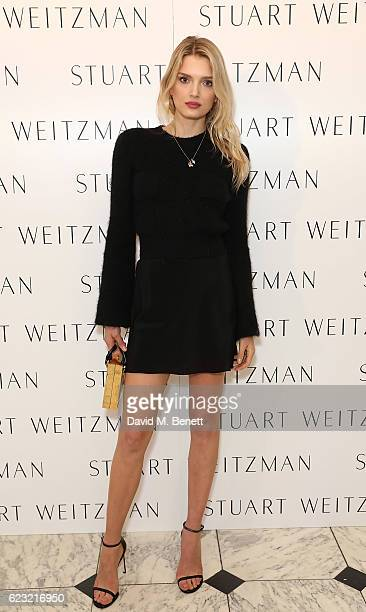 Lily Donaldson attends Stuart Weitzman's private VIP dinner at Royal Academy of Arts to celebrate opening of it's London flagship boutique on...