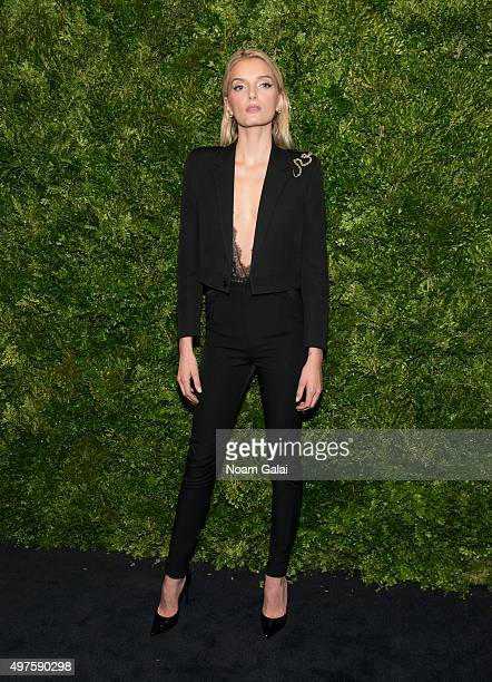 Lily Donaldson attends the 8th Annual Museum Of Modern Art Film Benefit honoring Cate Blanchett at Museum of Modern Art on November 17 2015 in New...