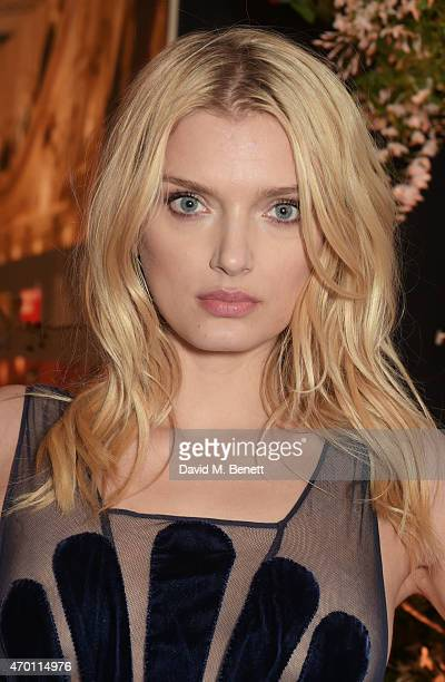 Lily Donaldson attends The Backstage Gala in aid of The Naked Heart Foundation at The London Coliseum on April 17 2015 in London England