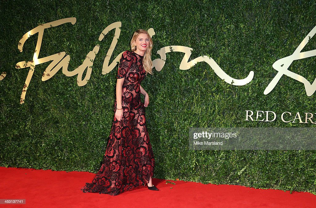 <a gi-track='captionPersonalityLinkClicked' href=/galleries/search?phrase=Lily+Donaldson&family=editorial&specificpeople=469694 ng-click='$event.stopPropagation()'>Lily Donaldson</a> attends the British Fashion Awards 2013 at London Coliseum on December 2, 2013 in London, England.