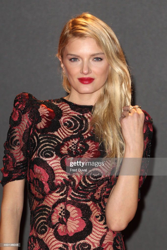 Lily Donaldson attends the British Fashion Awards 2013 at London Coliseum on December 2, 2013 in London, England.