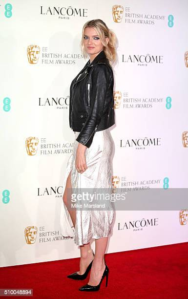 Lily Donaldson attends the Lancome BAFTA nominees party at Kensington Palace on February 13 2016 in London England