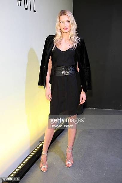 Lily Donaldson attends the launch of the 'Faberge Visionnaire DTZ' Faberge's new timepiece at South Bank Tower on December 6 2016 in London England