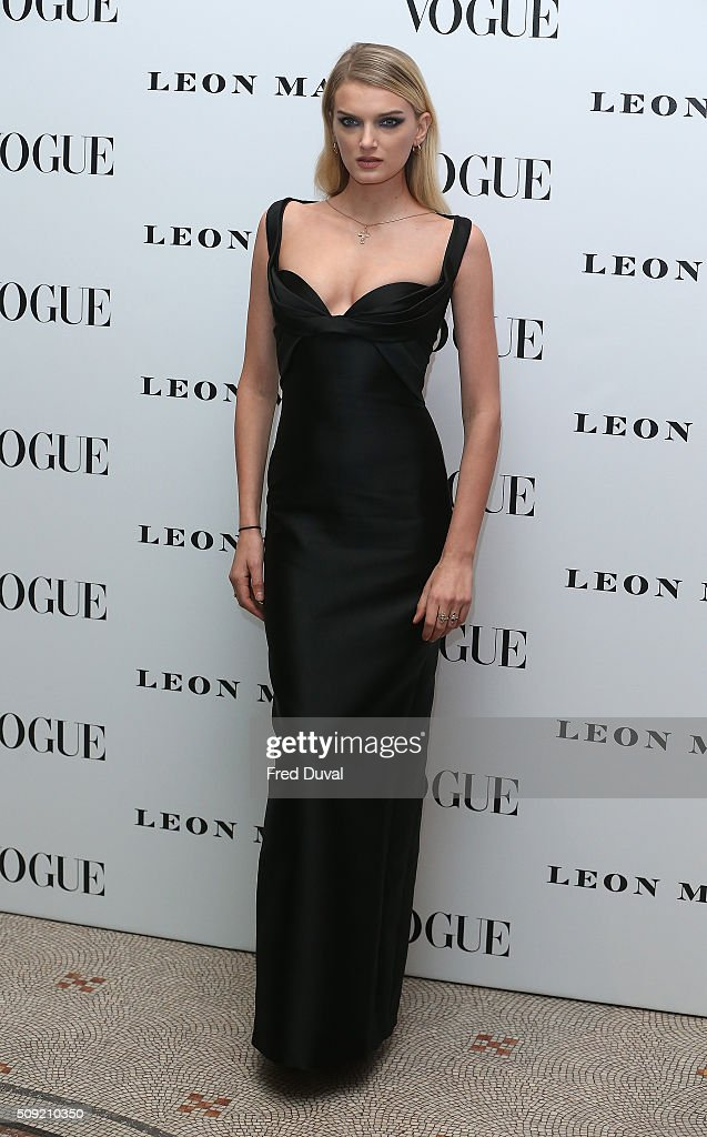 <a gi-track='captionPersonalityLinkClicked' href=/galleries/search?phrase=Lily+Donaldson&family=editorial&specificpeople=469694 ng-click='$event.stopPropagation()'>Lily Donaldson</a> attends the opening of Vogue100 : A century of Style at National Portrait Gallery on February 9, 2016 in London, England.