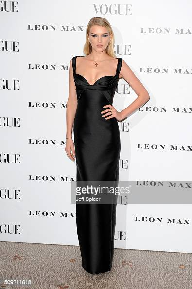 Lily Donladson attends at Vogue 100 A Century Of Style at the National Portrait Gallery on February 9 2016 in London England