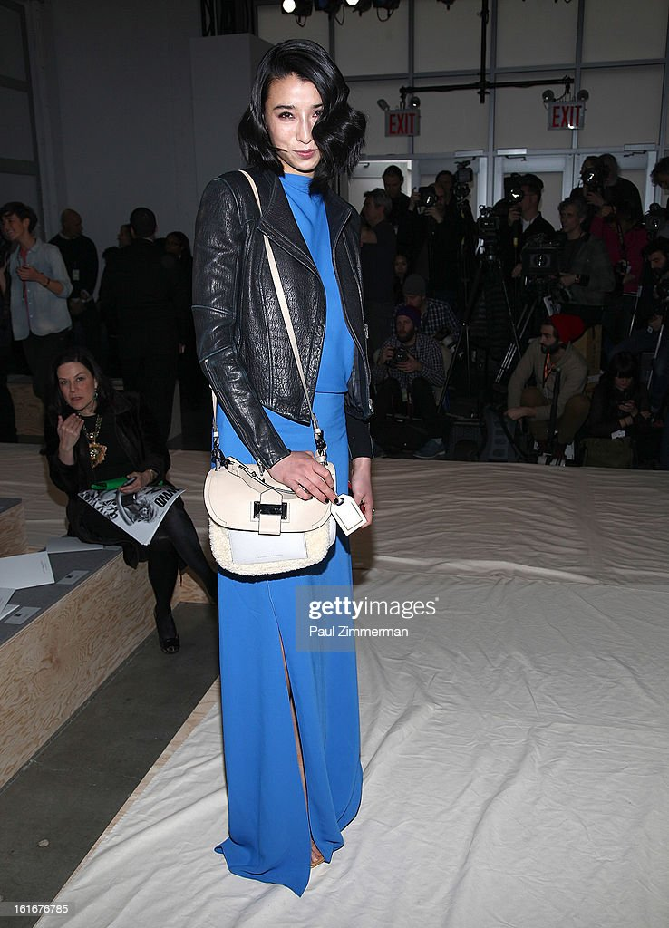 Lily Kwan attends Reed Krakoff during Fall 2013 Mercedes-Benz Fashion Week on February 13, 2013 in New York City.