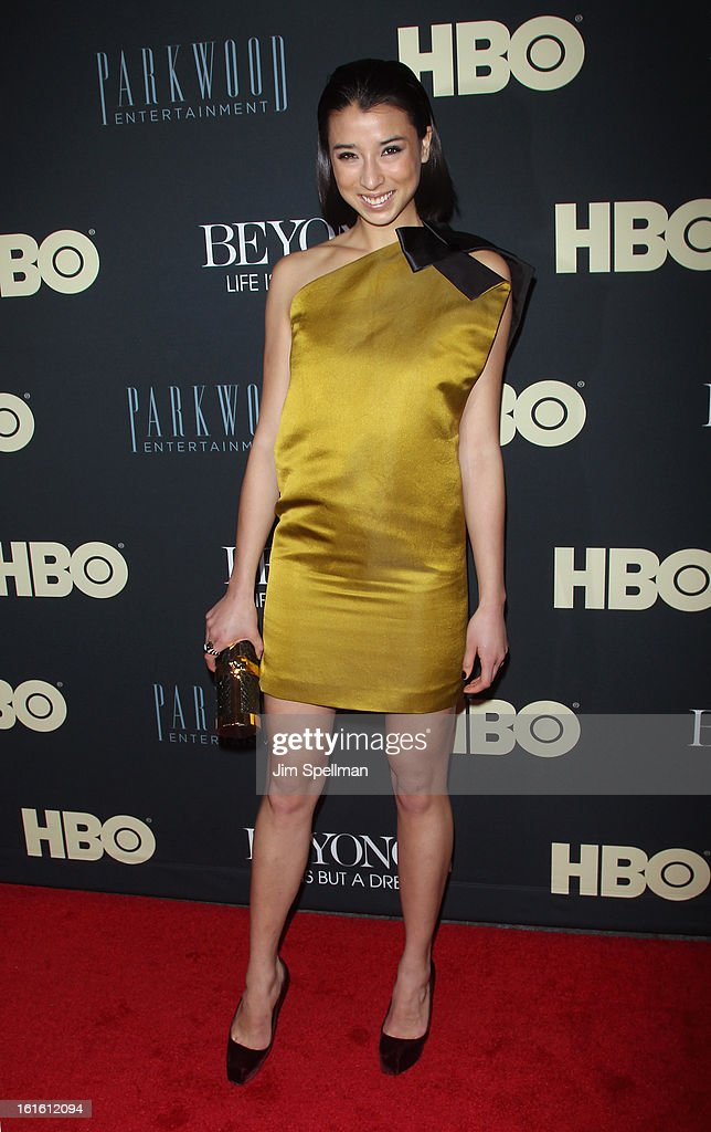Lily Kwong attends 'Beyonce: Life Is But A Dream' New York Premiere at Ziegfeld Theater on February 12, 2013 in New York City.