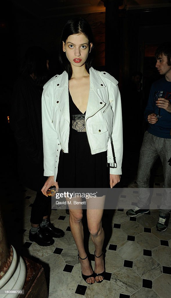 Lily McMenamy attends The London Edition opening celebrating the September issue of W Magazine at The London Edition Hotel on September 14, 2013 in London, England.