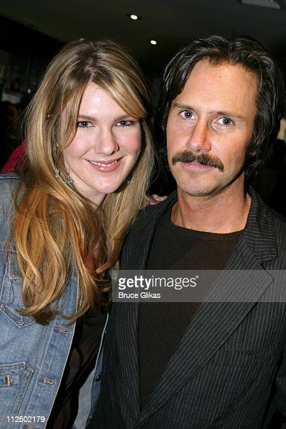 Lily Rabe and Josh Hamilton during 50th Annual Drama Desk Awards Nominations Cocktail Party at Arte Cafe in New York City New York United States