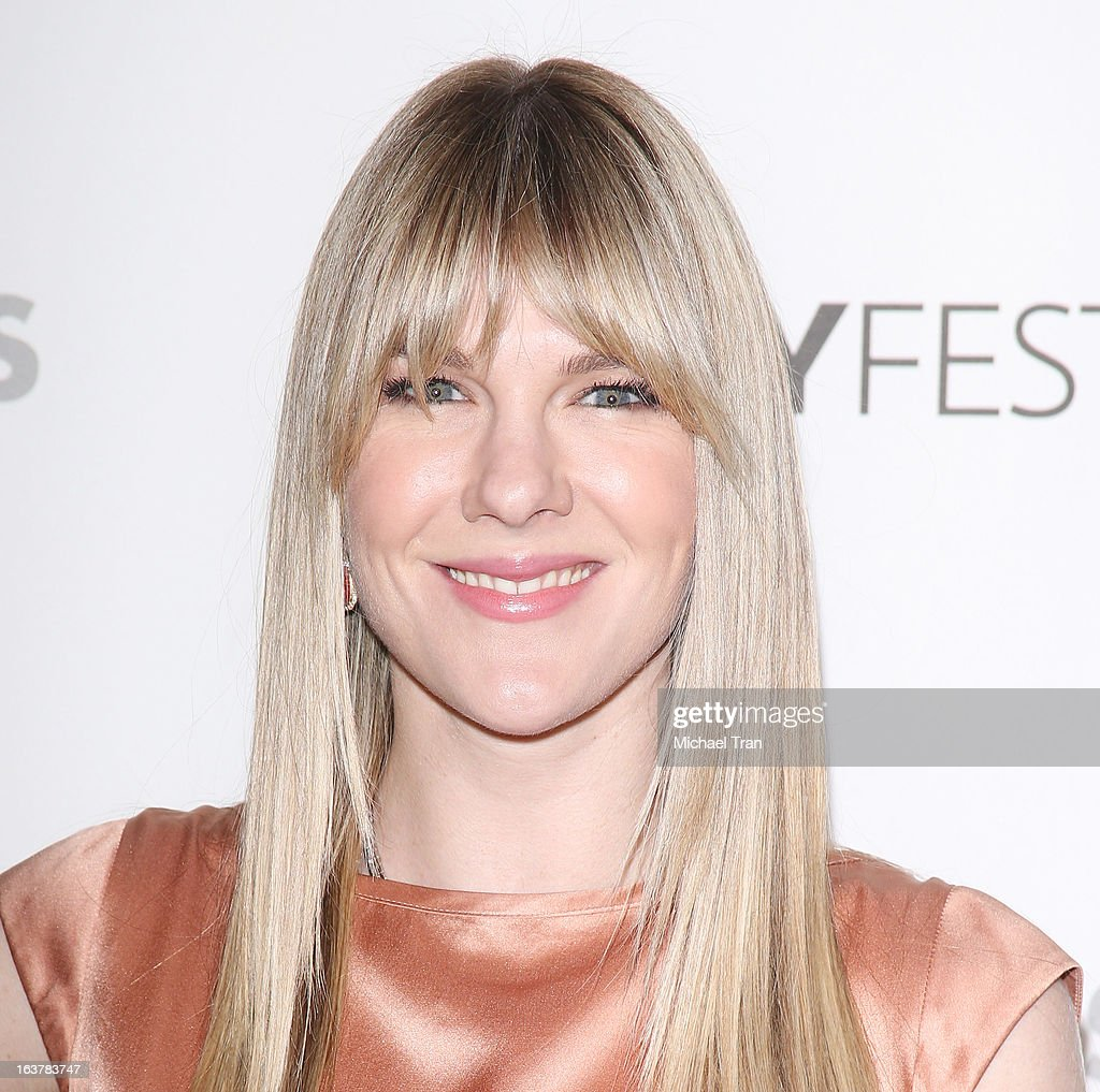 Lily Rabe arrives at the 30th Annual PaleyFest: The William S. Paley Television Festival - 'American Horror Story: Asylum' - closing night presentation held at Saban Theatre on March 15, 2013 in Beverly Hills, California.