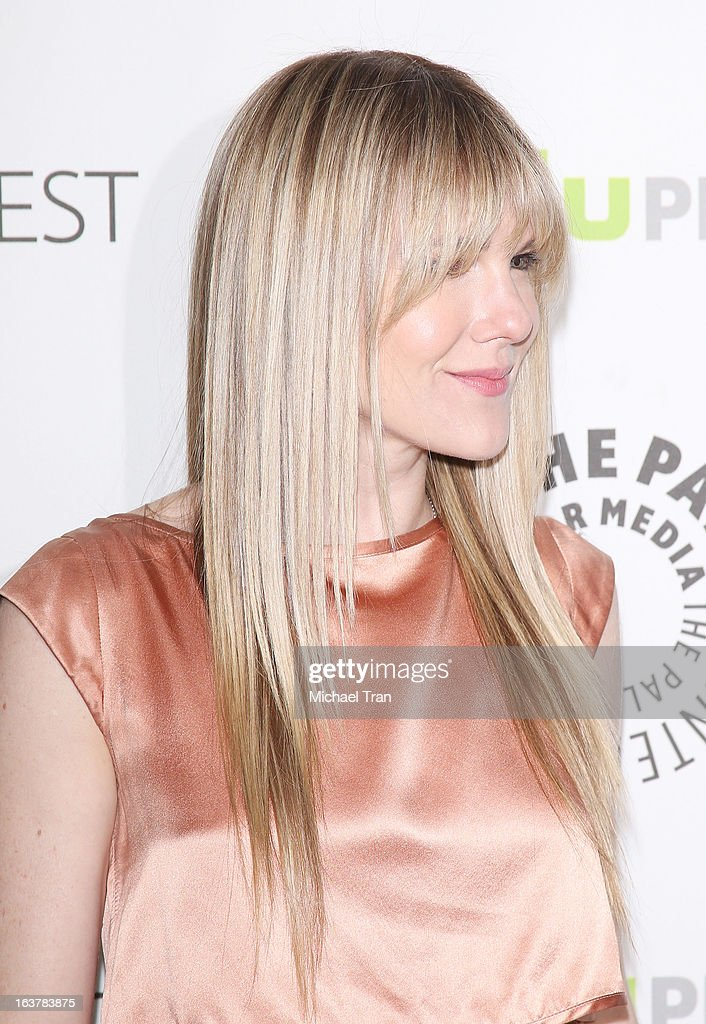 <a gi-track='captionPersonalityLinkClicked' href=/galleries/search?phrase=Lily+Rabe&family=editorial&specificpeople=233506 ng-click='$event.stopPropagation()'>Lily Rabe</a> arrives at the 30th Annual PaleyFest: The William S. Paley Television Festival - 'American Horror Story: Asylum' - closing night presentation held at Saban Theatre on March 15, 2013 in Beverly Hills, California.