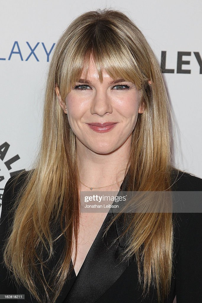 Lily Rabe arrives to The Paley Center Honors Ryan Murphy With Inaugural PaleyFest Icon Award at The Paley Center for Media on February 27, 2013 in Beverly Hills, California.