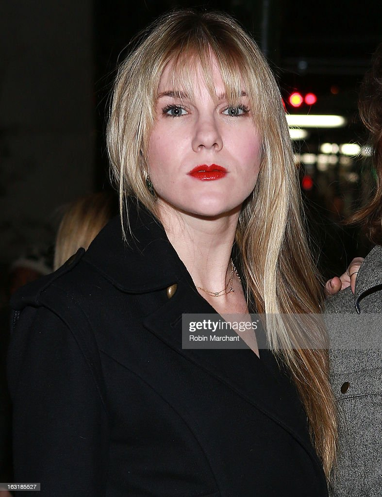 Lily Rabe attends 'Talley's Folly' Opening Night at Laura Pels Theatre at the Harold & Miriam Steinberg Center for on March 5, 2013 in New York City.