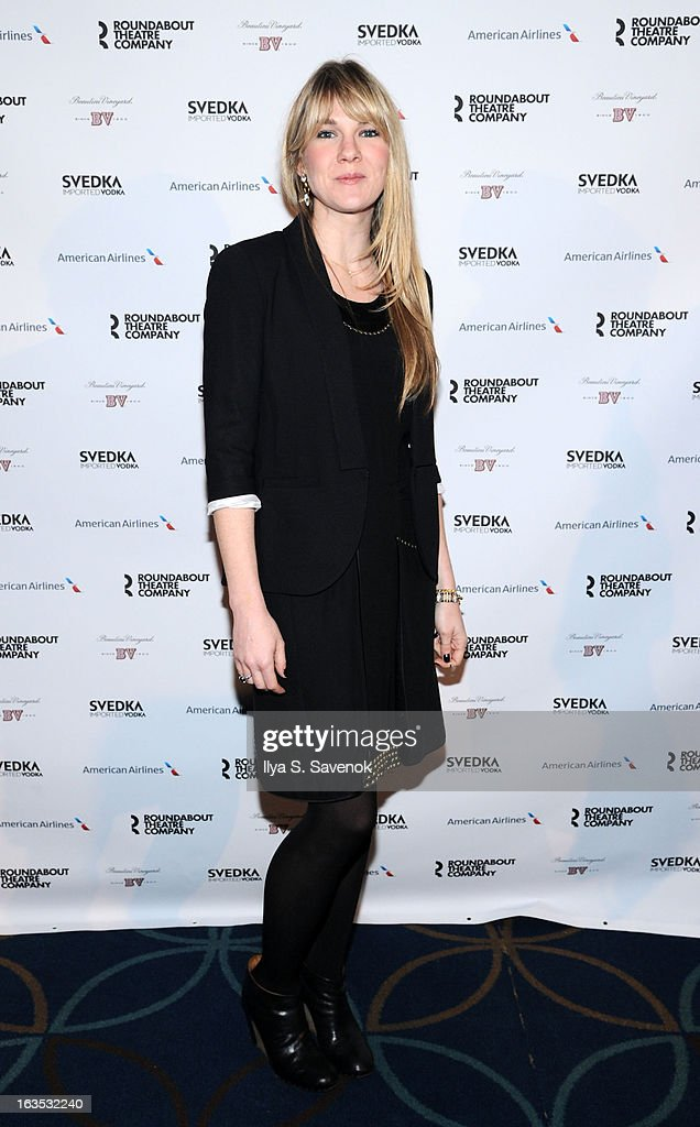 Lily Rabe attends the 2013 Roundabout Theatre Company Spring Gala at Hammerstein Ballroom on March 11, 2013 in New York City.