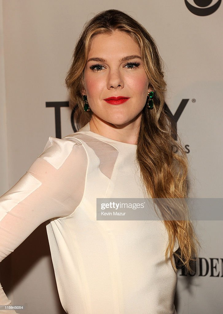 Lily Rabe attends the 65th Annual Tony Awards at the Beacon Theatre on June 12 2011 in New York City