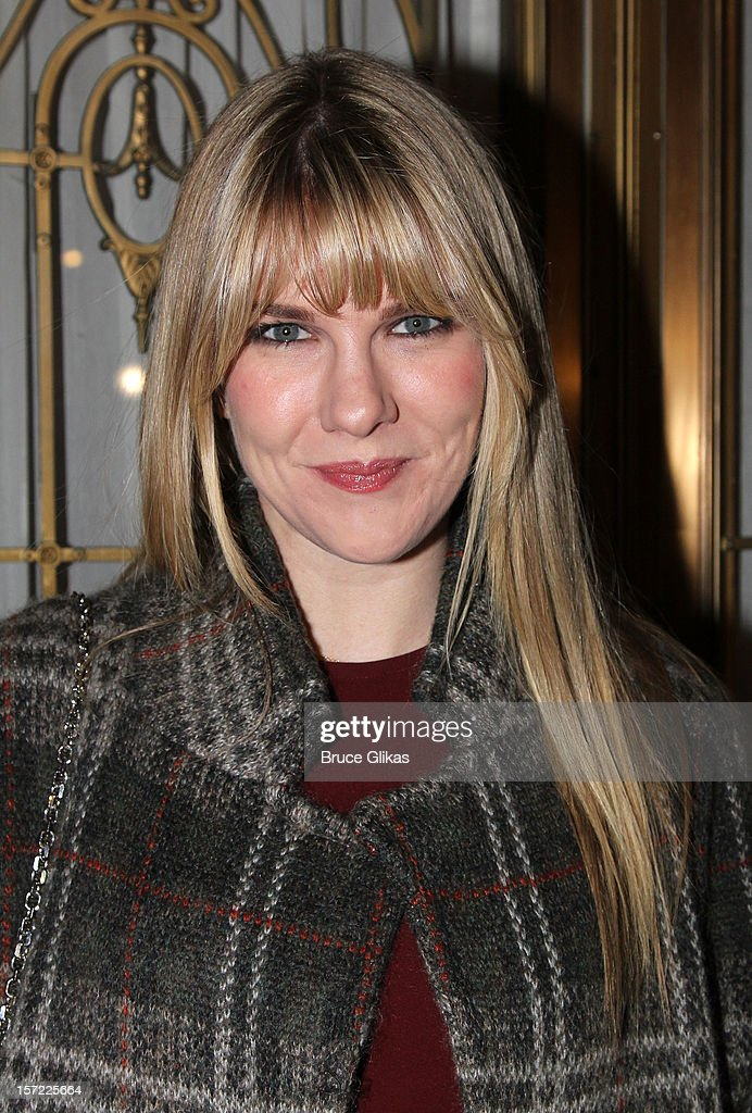 Lily Rabe attends the Opening Night of 'Dead Accounts'on Broadway at The Music Box Theatre on November 29, 2012 in New York City.